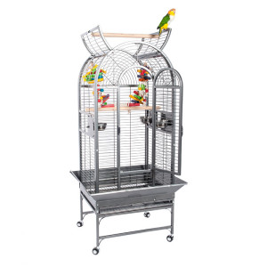 RC-ecuador-parrot-cage-with-bird