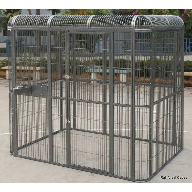 Large Outdoor Parrot Aviary Parrotize Uk