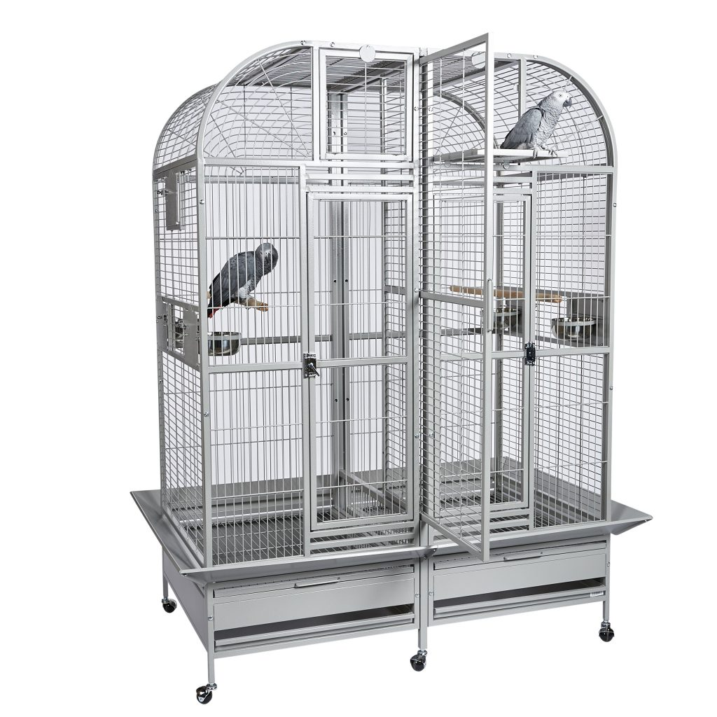Rainforest Castello I Medium Double Parrot Cage Parrotize Uk